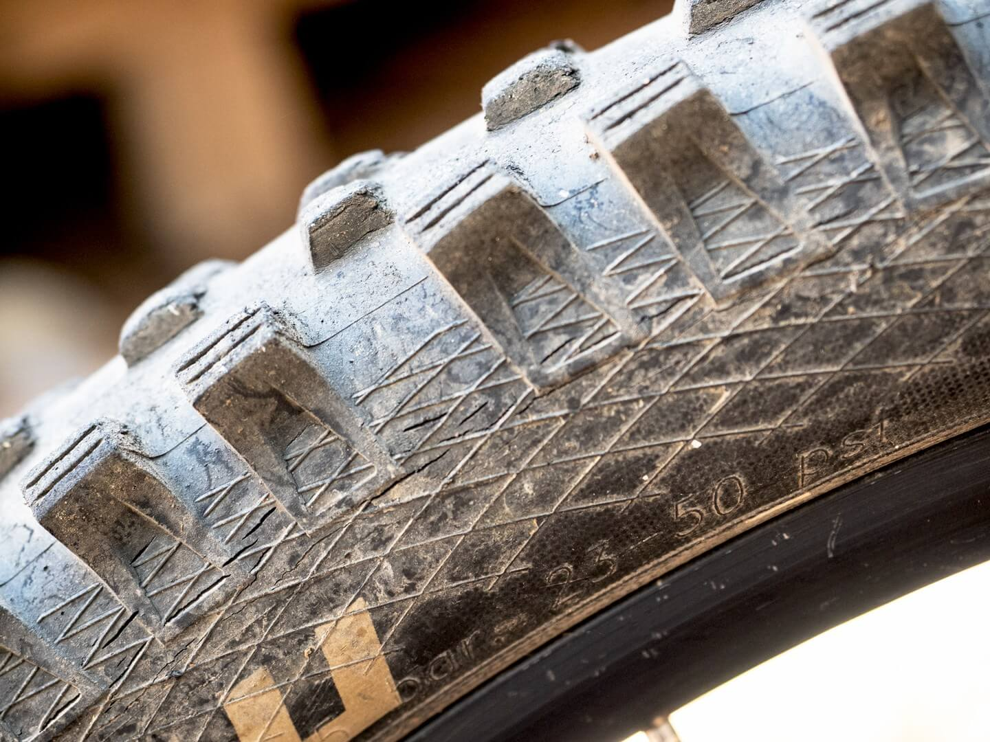 Recommended Tire pressure on side of the best mountain bike tires